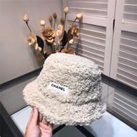 Wholesale straw paper hat women beach resale online - Hat Vintage Bucket Hats Women HipHop Fishing Cap Sports Sunhat with box bag