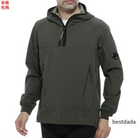 Wholesale aliens movies resale online - Alien Japan Italy CP COMPANY men s polyester hooded sports sweater
