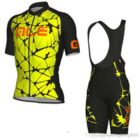 Wholesale ale cycling set resale online - ALE Short sleeve Cycling Clothing Summer Cycling Jersey Set Maillot Ropa Ciclismo Men s Mountain Bike Gear Bicycle shirt Outdoor Sports