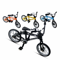 Wholesale kids bmx bike for sale - Group buy BMX Toys Alloy Finger Bicycle Functional Kids Bicycle Finger Bike Mini Finger bmx bike toy