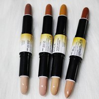 Wholesale shading pen for sale - Group buy NYX Wonder stick highlight and contours shade stick Light Medium Deep Universal colors Face foundation Makeup Concealer Pen