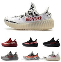 Wholesale discounted shoes for kids for sale - Group buy 1 Discount Classic O Kids Shoes Kanye West Zebra Bred Beluga Running Shoes Sneakers For Boys Girls kids sneakers kids trainers
