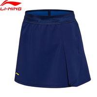 Wholesale li ning badminton resale online - Break Code Women Badminton Series Skirt Shorts Badminton National Team LiNing li ning Competition Suits ASKN016 WQB1025