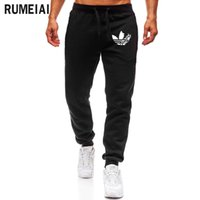 Wholesale runner clothes for sale - 2019 High Quality ADI Jogger Pants Men Fitness Bodybuilding Gyms Pants For Runners Brand Clothing Autumn Sweat Trousers Britches