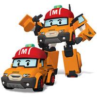marca de controle venda por atacado-Silverlit Transform Robocar POLI Mark Manual de Controle Dessin Animé Robot Car Poli Deformação Robô Crianças Meninos Toy 3-6T 04