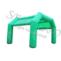 Inflatable Tent Outdoor Advertising Tent Square Arch Inflatable Tent with Custom Printing and Blower W5.5 X H3.5 m