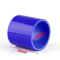 Wholesale universal turbo hose resale online - Areyourshop Universal Straight Degree mm mm Silicone Pipe Hose Coupler Intercooler Turbo Water Air Pipe Connection