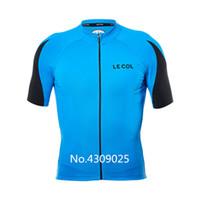 personalizar la ropa al por mayor-2019 LECOL New Cycling Jersey Set personaliza camisetas y shorts 3D pad ciclismo ropa roupa ciclismo Ropa de bicicleta alta calidad