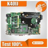 Wholesale laptop motherboards cpu for sale - send CPU K50IJ Motherboard REV For ASUS K40IJ K40AD K40AF K50AD K50AF Laptop motherboard K50IJ Mainboard K50IJ