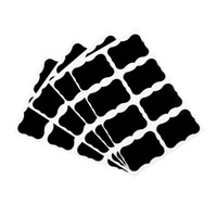 ingrosso adesivo del contenitore-Lavagna Lavagna Adesivi Decalcomanie Cucina Barattoli Etichette Barattoli Adesivi da cucina Etichetta contenitore Contenitore Etichetta KKA7128