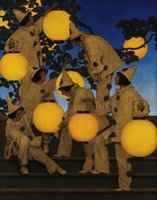 Wholesale lantern figure for sale - Group buy Maxfield Parrish The Lantern Bearers Home Decor Handcrafts HD Print Oil Painting On Canvas Wall Art Canvas Pictures