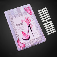 Wholesale newest gel nails for sale - Newest Professional Colors PU Leather Nail Gel Polish Display Card Book Chart Nail Tools With Free Nail Tips