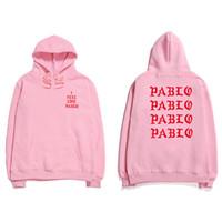 Wholesale club belt for sale - Group buy 19ss Hip Hop Hoodies Men I Feel Like Pablo Streetwear Hoodie Sweatshirts Anti Social Letter Print Hoodie Club