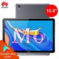 ingrosso android della tabella del pc-Huawei Mediapad M6 10,8 pollici tavolo WIFI PC Kirin 980 Octa core Android 9.0 Supporto Google Play 7500mAh Fingerprint ID