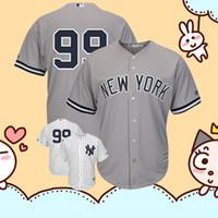 37f2f2b27 New York Men's Yankees Aaron Judge Derek Jeter Majestic White Cool Base  Player Replica Jersey Embroidery Logos Baseball Jerseys