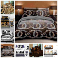 Wholesale brown beige bedding sets resale online - Fashionable Bedding Set King Size Luxury Twin Full Single Double Duvet Cover Set Queen Modern Decoration Bed Set with Pillowcase