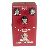 Wholesale guitar effects volume for sale - Group buy DC9V Distortion Effects Pedal Volume Tone Effects Electric Guitar Accessory