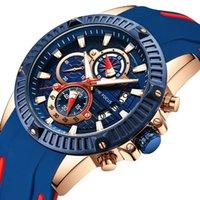 negócios automáticos venda por atacado-2018 Novos Homens de Negócios Relógios Data Relógio Automático Luminoso Ponteiro Esporte Relógios De Quartzo Moda Silicone Strap
