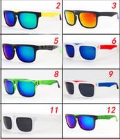 men ken block sunglasses toptan satış-ADEDI = 50 adet adam en moda YENI stil ken blok rüzgar Güneş gözlükleri Erkekler Marka tasarımcı Güneş Gözlüğü spor erkekler gözlük bisiklet gözlük 21 renkler