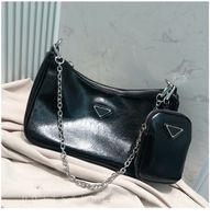 handytasche drop-schiff groihandel-Arbeiten Sie neue Designer-Handtasche hohe Qualität 2 Stück Mode Damen-Umhängetasche Umhängetasche Handytasche Geldbeutel freies Verschiffen
