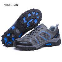 vêtements en caoutchouc pour hommes achat en gros de-Chaussures de plein air chaussures de sport hommes chaussures de sport respirantes Creek chaussures antidérapantes en caoutchouc à séchage rapide pour hommes, chaussures de sport unisexes