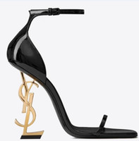 yüksek topuklu siyah akşam ayakkabıları toptan satış-2019 Tasarımcı Yüksek Topuklu Yaz Kadın Ayakkabı Sivri Burun Düğün Akşam Balo Parti Elbiseler Ayakkabı Kadınlar Seksi Bayanlar Modası Siyah Ayakkabı Pompaları