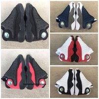 Wholesale children toddler shoes lights for sale - Group buy Cats Black Cheap s Toddler sneakers bred Flint Kids Basketball Shoes Infant big boy Girl Children Trainers With Box