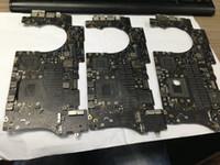 placa lógica para macbook pro al por mayor-Envío gratuito 2013 años 820-3787 820-3787-A Placa lógica defectuosa para MacBook Pro 15
