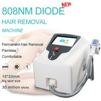 Wholesale laser hair regrowth machines resale online - 2019 nm painless hair removal machine dark facial hair removal machine laser diode hair anti regrowth machine