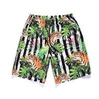 pantalon de travail pour homme achat en gros de-CHAMSGEND Shorts Summer Beach Pantalon De Travail Pour Hommes 3D Graffiti Imprimer Green Board Shorts Pantalon Court Pantalon Pour Homme 18JAN25