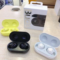 Wholesale yellow headphone ear for sale - Group buy Brand TWS Earphones With Charger Box Galaxy Buds Bluetooth Headphones A Quality Wireless Earphone Headsets D Stereo