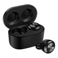 Wholesale mini wireless bluetooth microphone resale online - Tws A6 Mini Wireless Bluetooth Headphones TWS Ear Plugs with Charging Box Stereo True Wireless Headphones Eliminate Microphone Noise