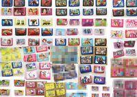 münze geldbörse kitty großhandel-Großhandel Lot Mix Cartoon Charakter Avengers Hallo Kitty Spiderman Wallet Trifold Zip Kinder-Cartoon-Party Geldbörse Geschenk