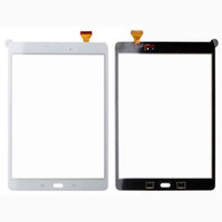 ingrosso t555 samsung-15 pz DHL lotto di Alta Qualità Touch Screen Vetro Digitizer Parti Replacment per Samsung Galaxy Tab A 9.7 T550 T551 T555