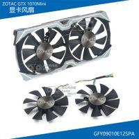 gráficos amd al por mayor-Nuevo original para ZOTAC GTX1070 MINI Ventilador de enfriamiento para tarjeta gráfica GFY09010E12SPA DC12V 0.5A