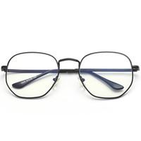 ingrosso occhiali da computer anti fatica-Brand Designer Computer Radiation Glasses Occhiali per radiazioni per telefoni cellulari Occhiali per computer portatili Occhiali anti-fatica anti-blu con montatura grande