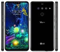 """Refurbished LG V50 ThinQ V500N Unlocked Cell Phone Octa Core 6GB 128GB 6.4"""" Triple Cameras 16MP 5G"""