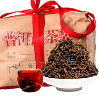Promotion 500g Yunnan Original Loose Ripe Puer Tea Organic Natural Black Pu'er Tea Old Tree Cooked Puer Tea Gift Package