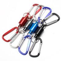 manyetik tırmanma toptan satış-Açık Balıkçılık Yayın Tutucu Hızlı Manyetik Yayın Açma Fly Fishing Aracı Kordon Kablo Çekme Tırmanma Bisiklet