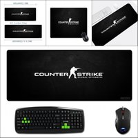 jogos globais venda por atacado-Padrão Mairuige XXL Big szie Preto Mousepad csgo Video Game Counter Strike Global Offensive notebook mesa de jogo Mats