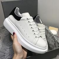 повседневная обувь для отдыха оптовых-Мужчины Женщины платформа досуг обувь Мода роскошный дизайнер женская обувь кожа Louisfalt Шипы Повседневная обувь дизайнер обувь высшего качества