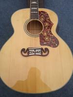 Free shippingHigh quality Spruce top Fishman EQ Tortoise PickguardSJ200NA Acoustic guitar Guitarra all color Accept
