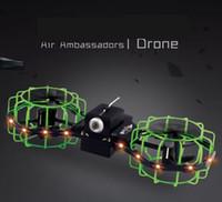 ingrosso telecamera di telecomando-Camera Drone pagaia doppia Skateboard Drone corpo del sensore Guarda Telecomando Tre telecomando a distanza aerei controllo