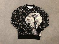 ingrosso hoodie per fiori-19ss Francia Italia Alta qualità New Hot Fashion Court style Elephant Sun flower Stampa Cotone uomo donna Mens Felpe con cappuccio di lusso