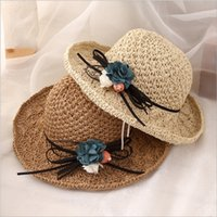 b83ee732 2019 new handmade straw hat fashion trend folding travel beach hat High  quality cheap women hat