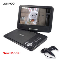 Wholesale usb vcd player mp3 resale online - LONPOO New Inch Portable DVD Player Swivel Screen VCD CD MP3 DVD Player USB SD Card RCA TV Cable Game Car Charger
