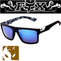 fuchskunst großhandel-Einzelverkauf Eyewear FOX 7983 der Art und Weise, der Sportsonnenbrille im Freien radfährt Sport-Sonnenbrille FREIES VERSCHIFFEN