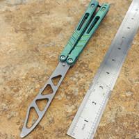 couteaux d'entraînement en titane achat en gros de-