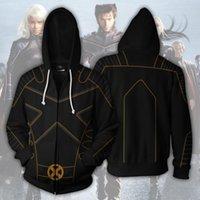 sweater sweater venda por atacado-O novo Marvel Deadpool 2 X- Men anime 3D impressão zip cardigan camisola do hoodie