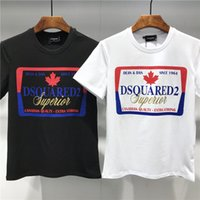 3d kanada großhandel-NEU HEISSE Marken Herren T-Shirts Man Tees Sommer atmungsaktiv Kurzarm ICON Designer 3D gedruckt Kanada HERREN POLOS icon TEES T-SHIRTS